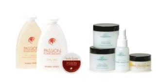 Passion Pomegranate Valentine's gift set w/free gift
