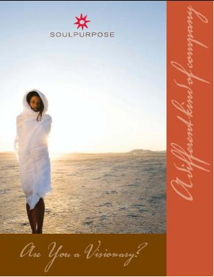 Are You A Visionary?  Soul Purpose - A Different Kind Of Company